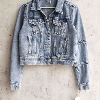 Free People - Rumors Denim Jacket - Light Indigo