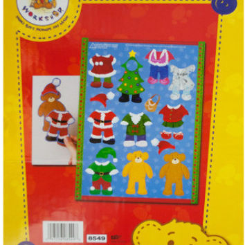 build-a-bear christmas dress-up magnets Case of 24