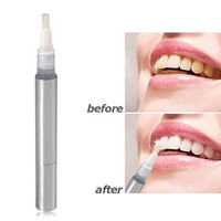 Useful & Compact Teeth Whitening Pen (Silver)