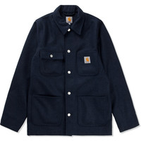 Navy Heather Gil Coat