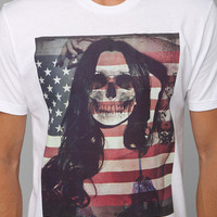 Riot Society Skeleton Girl Tee