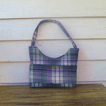 The Plaid Purse