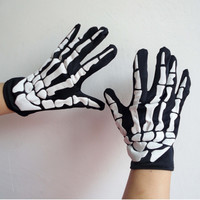 Undefined Glove Halloween ghost glove costume ball party supplies birthday party decorations halloween property decoration