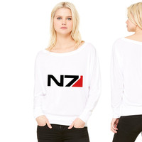N7 women's long sleeve tee