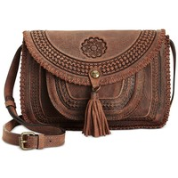 Patricia Nash Distressed Beaumont Flap Crossbody