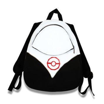 Halloween  Pokemon Go Backpack PokeBall Bag Team Valor Instinct Mystic Red Pocket Monster Cosplay Costume daily use school bag