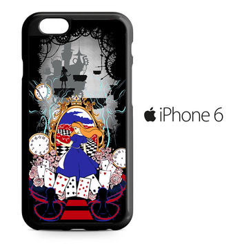 Disney Alice in Wonderland World iPhone 6 Case