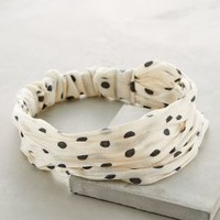 Polka Dot Turban by Anthropologie
