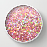 Pinkalicious Wall Clock by Lisa Argyropoulos