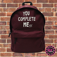 You Complete MEss - Luke Hemmings backpack fashion bag 5SOS - school