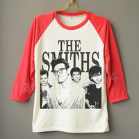The Smiths Shirt English Rock Band Shirt Alternative Rock Shirt Raglan Baseball Shirt Unisex Shirt Women Shirt Men Shirt Jersey Long Sleeve