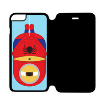 Halloween Minion Down iPhone 6 Flip Case Cover