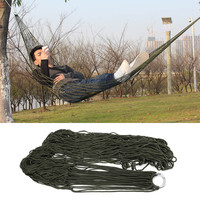 Brand New Garden Outdoor Hammock Sleeping Bed Portable Travel Camping Nylon Hang Mesh Net
