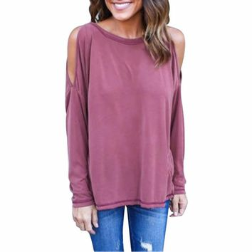 Women Backless BLouse Sexy Cold Shoulder Open Back Short Sleeve Shirt Casual Knitted Tops Tees Solid kimono Style