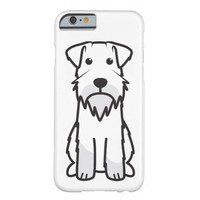 Miniature Schnauzer Dog Cartoon Barely There iPhone 6 Case