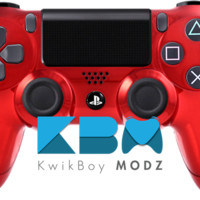 Red Chrome Dualshock 4 PS4 Controller