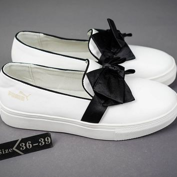PUMA suede creepers Fashionable casual shoes