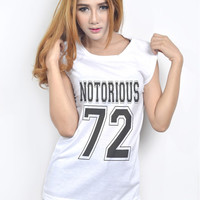 Notorious Big Biggie Smalls Muscle Tee for Women Teenager Hip Hop Rapper Clothing Fashion Shirt Fangirl Birthday Gifts