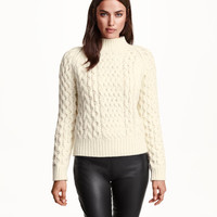 H&M Cable-knit Sweater $19.99