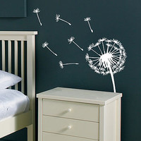 Dandelion And Birds Wall Sticker