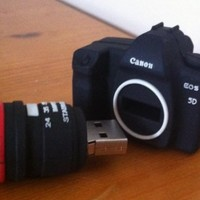 4GB Mini DSLR Camera USB Flash Drive Funny Memory Stick