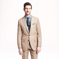 J.Crew Mens Ludlow Suit Jacket In Italian Linen-Cotton