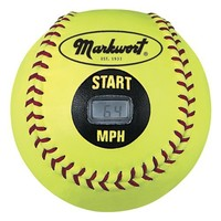 Markwort Speed Sensor Yellow Cover Softball (11-Inch)