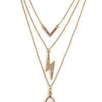 Wishing Bolt Necklace