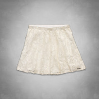 Kali Shine Lace Skater Skirt