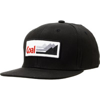 Coal The Interstate Black Snapback Hat