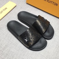 LOUIS VUITTON Sandals Slippers Sliders Summer Shoes LV Flip Flop - Best Deal Online
