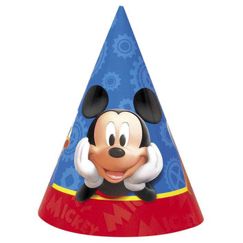 Mickey Mouse Clubhouse Party Hats [8 per Package]