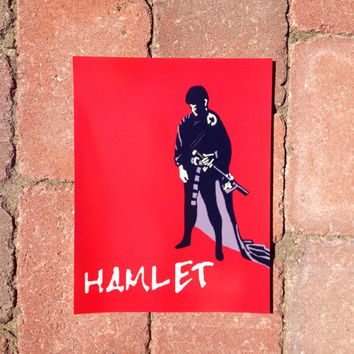 Hamlet Poster - A Replica Poster from Bella Swan's Room in Twilight