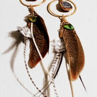 Druzzy Zebra Peacock Earrings - NEW - Shop Online