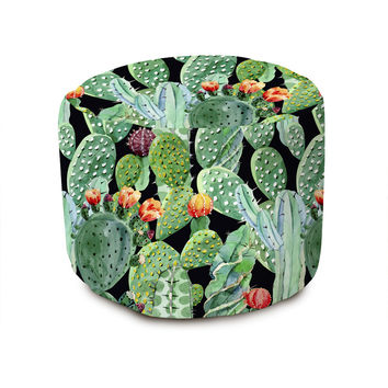 Prickly Party Pouffe