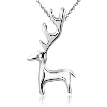 100% Silver 925 Jewelry Sterling Silver Necklace