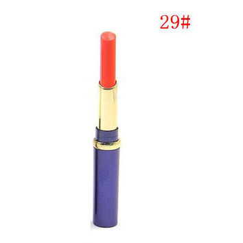 Fashion Design 1pcs 12 Charming Colors Available Waterproof Long Lasting Matte Lipstick Cosmetic Lips Matte Suitable For Party