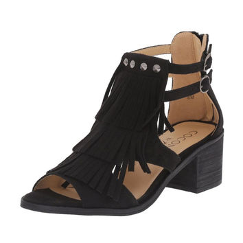 Coconuts by Matisse Falls Black Sandals