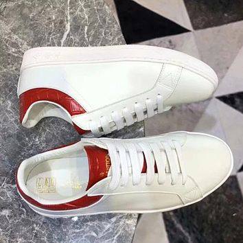 Louis Vuitton LV Old Skool Women Fashion Leather Flats Shoes