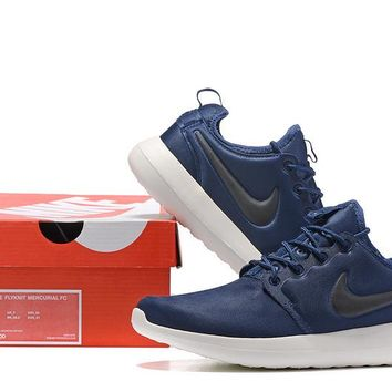 """Nike Roshe Two"" Unisex Sport Casual Sneakers Couple Running Shoes"