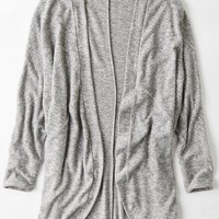 AEO Women's Feather Light Heathered Cardigan