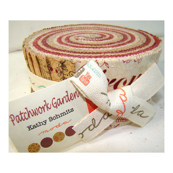 Patchwork Garden Jelly Roll, Moda Jelly Roll, Moda Fabric, Moda, Jelly Roll Fabric, Patchwork Garden, Jelly Rolls Fabric, Quilt Fabric,