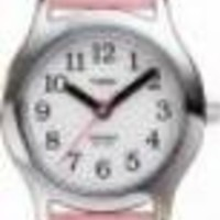 Timex Kids' Pink Leather Watch #T79081