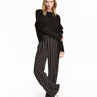 Wide-cut Pull-on Pants - from H&M
