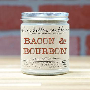 Bacon & Bourbon - 8oz Soy Candle