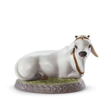 Lladro Collectible Figurine, Sacred Cow