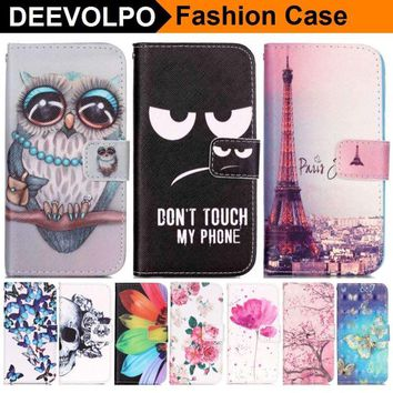 DEEVOLPO Luxury Case For Apple iphone 8 7 6 6S Plus 5S SE 8+ 7+ Wallet Case For ipod touch 6 Phone Cover Leather Capa Bag DP23Z