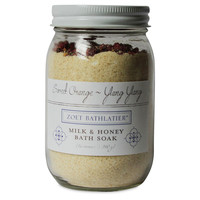 16 oz Bath Soak, Milk & Honey