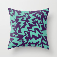 Zigs Part 3  Throw Pillow by Liv B