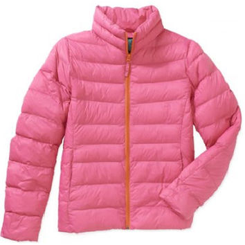 Antler Creek Women's Lightweight Puffer Jacket, Small (34-36), Pink